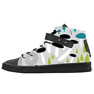 0fe9c084b7553 Amazon.com | Custom Women's Shoes Mushroom New Sneaker Canvas Round ...