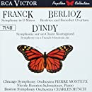 Franck: Symphony in D Minor / Berlioz: Beatrice and Benedict Overture / D'Indy: Symphony on a French Mountain Air