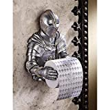 Toilet Paper Holder - Medieval Knight to Remember Gothic Bathroom Decor - Toilet Paper Roll - Bathroom Wall Decor (Renewed)