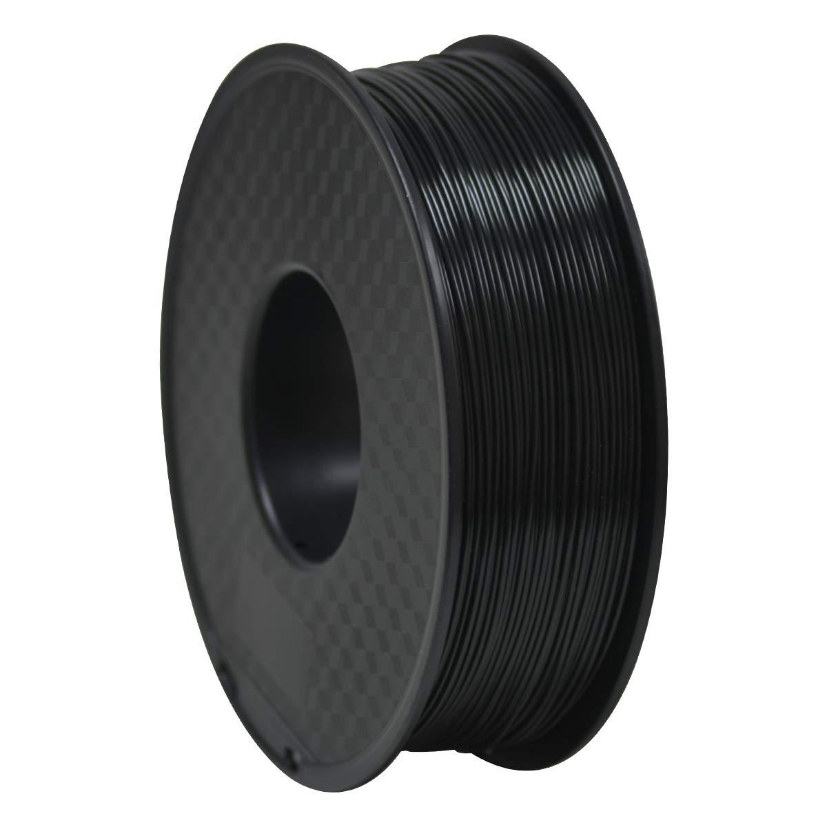 GEEETECH ABS Filamento 1.75mm Negro, Impresora 3d Filamento 1KG 1 ...