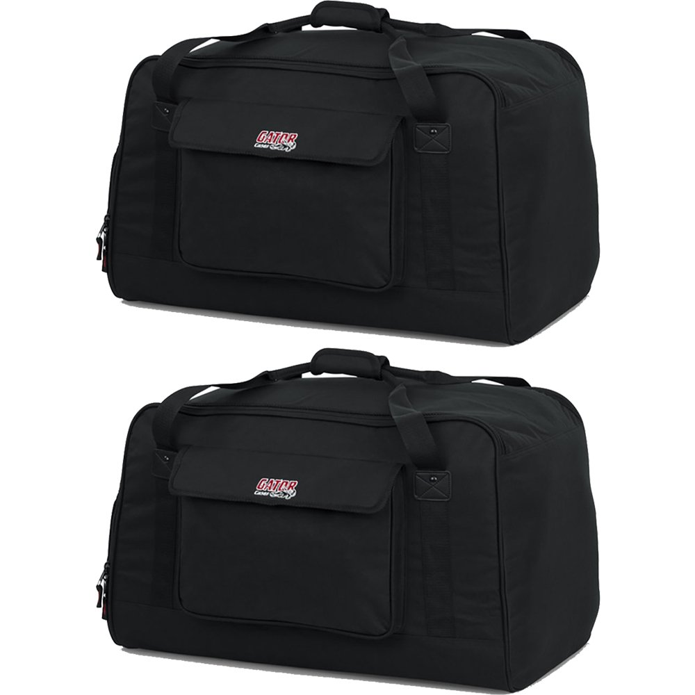Gator GPA Tote Bag Pair for 12 Speakers (2 Bags) GPA-TOTE12