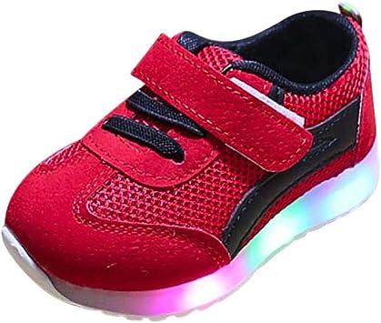 Chaussures LED Basket Garçons Filles,Xinantime Enfant en Bas