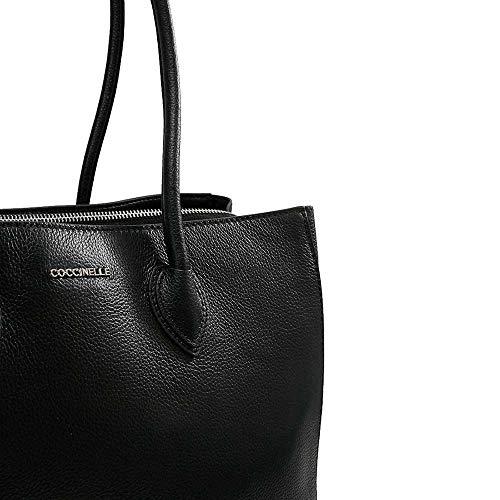 Coccinelle Shoulder Nero Double Bag Farisa Dg5110101 ExXrRwE6