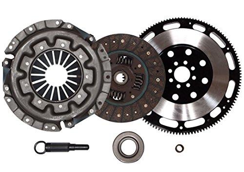 QSC Stage 1 Clutch Kit + Forged Flywheel fits Nissan 90-96 300ZX 3.0L VG30DE NT