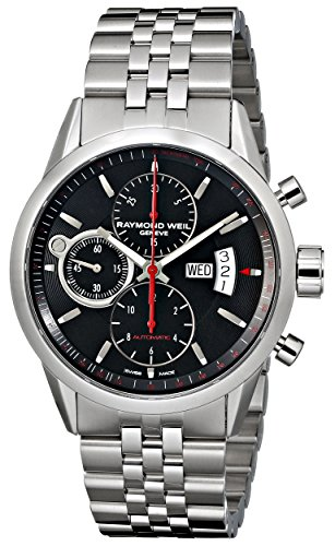 Raymond-Weil-Mens-7730-ST-20041-Freelancer-Analog-Display-Swiss-Automatic-Silver-Watch