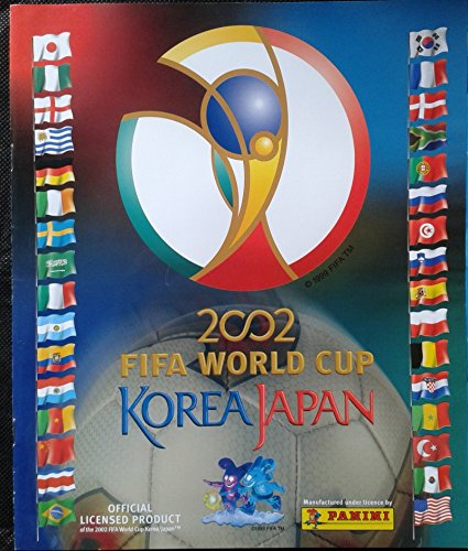 PANINI OFFICIAL ALBUM WORLD CUP KOREA JAPAN 2002 REPRINT 2014