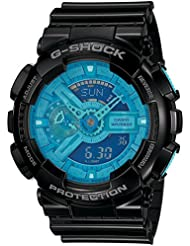 G-Shock G100 Big Combi Vivid Color (Limited Edition) Wrist Watch in Black/Blue