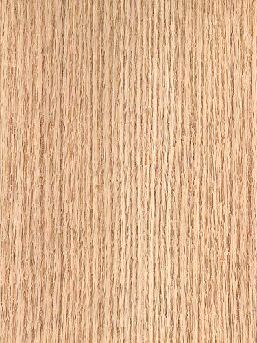Wood Veneer, Oak, White Rift, 2 x 8, 10 mil Paper Backer