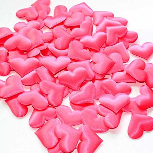 Wedding throwing petals weeding decor 100 Pcs of sponge heart shaped confetti -Pier 27