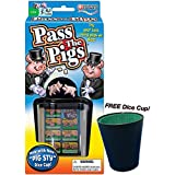 Pass the Pigs Game with Free Dice Cup