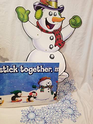 Snowman Bulletin Board pieces -