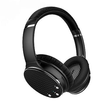 CITW Juegos Auriculares Auriculares Inalámbricos Reducción De Ruido Micrófono Auricular Bluetooth Plegado Multifunción,Black