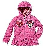 Princess Little Girls' Zip-Up Fleece Jacket with Hood