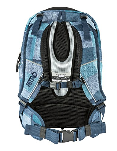 Blue Ice Daypack 2018 Casual 30 liters cm 44 Zebra Blue Zebra Snowboards Ice Nitro O68qwnBU8