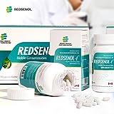 Redsenol – Contain 16 Rare Ginsenosides: Rk2 Rg5 Rh2 Rk1 Rk3 – Panax Ginseng Extract , 12% Rare Ginsenosides – (270 Capsules / 135g) 3Bottles