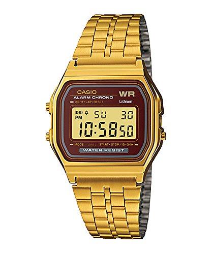 Casio De los Hombres Digital Reloj de Acero Inoxidable Esfera Digital: Amazon.es: Relojes