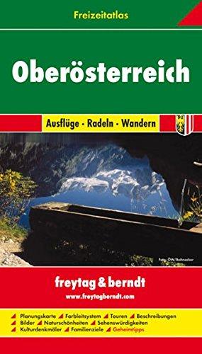 Freizeitatlas Oberösterreich. Ausflüge-Radeln-Wandern. 1:50 000-1:200 000.