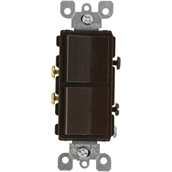 leviton 5641 e 15 amp 120 277 volt decora single pole 3 way ac rh amazon com