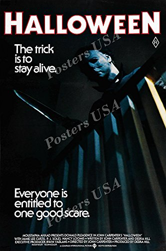 Posters USA Halloween Movie Poster GLOSSY FINISH - MOV892 (16