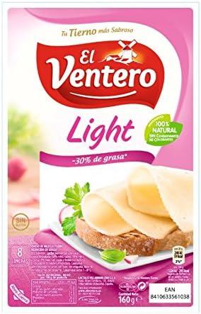 El Ventero Tierno Queso Light Lonchas, 160g