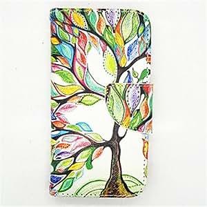 WQQ Teléfono Móvil Samsung - Carcasas de Cuerpo Completo - Diseño Especial - para Samsung Galaxy Mini S5 Plástico/Cuero PU )