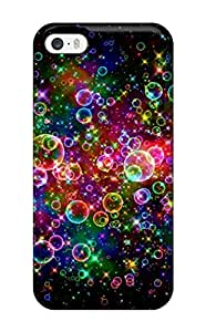1781766K49159738 Iphone Cover Case - Colorful Bubbles Protective Case Compatibel With Iphone 5/5s
