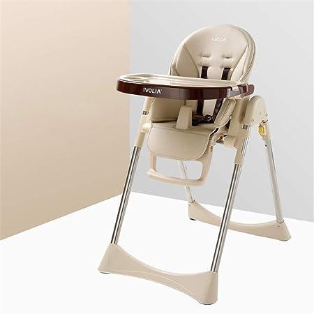 Trona de bebé ajustable Silla de cena portátil para niños con ...