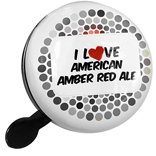 - NEONBLOND Bike Bell I Love American Amber Red Ale Beer Scooter or Bicycle Horn