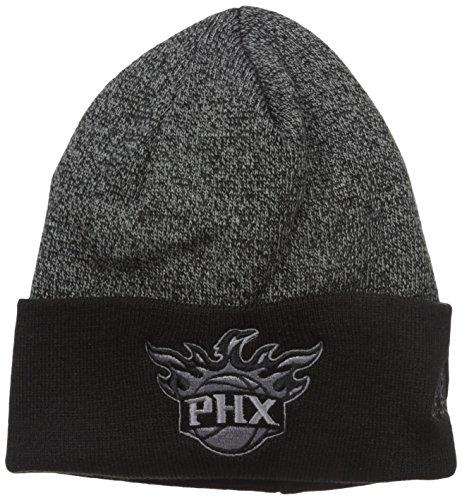 fan products of NBA Phoenix Suns Fanwear Cuffed Pom Knit , One Size ,Black