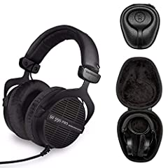 The Beyerdynamic DT990 Pro Studio Headphones were made for sound enthusiasts just like you. These extremely comfortable open-back headphones have become known throughout the industry as a benchmark of sound quality and usability. Outst...