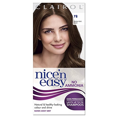 Nice 'N' Easy by Lasting Colour 78 MEDIUM GOLDEN BROWN [Health and - 78 Colour