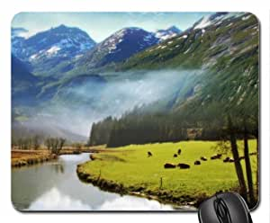 angels valley Mouse Pad, Mousepad (Mountains Mouse Pad)