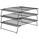 Wilton Recipe Right Non-Stick Cooling Rack, 3-Tier