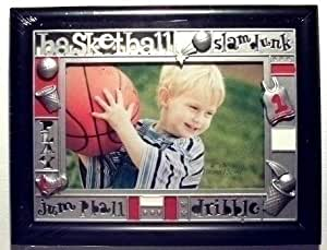 04 x 6 Sports Design Photo Frame - Kids Basketball Theme