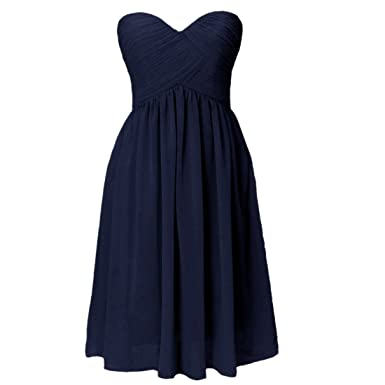 Women Short Evening Dress,Bandeau Evening Prom Graduation Plus Size Dress Party Ball Dress UK