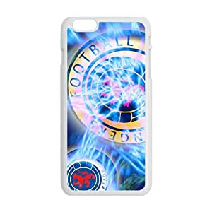 Shiny blue football club Cell Phone Case for iPhone plus 6
