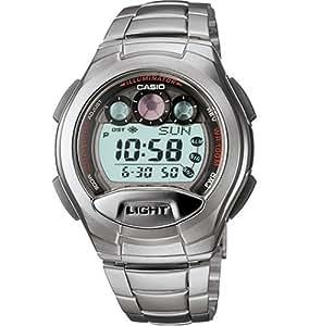Casio Men's W755D-1AV Classic Silver-Tone Band Sport Watch