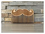 Big Mustache Wood Beard Comb