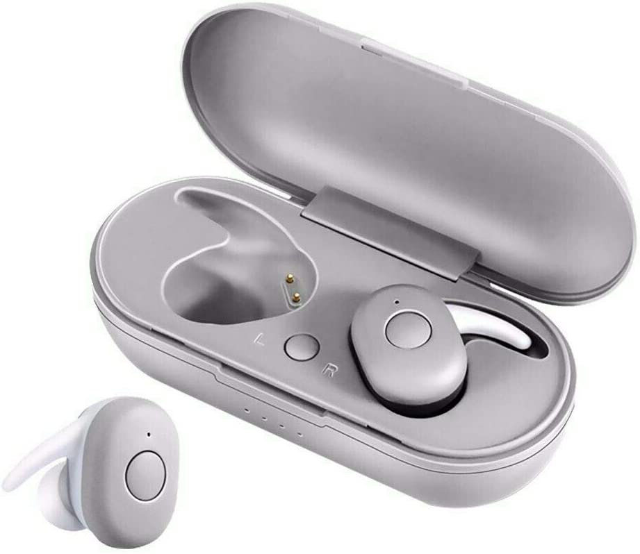 Amazon Com Honjedecor Bluetooth 5 0 Headset Tws Wireless Earphones Mini Earbuds Stereo Headphones 1 Pcs White Garden Outdoor