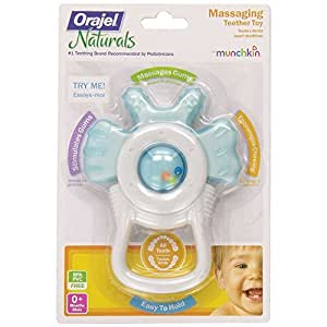 Munchkin Orajel Massaging Teether (Assorted Colors. Color May Vary)