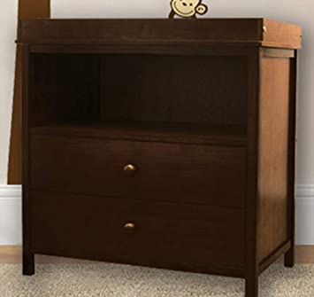 Espresso Athena AFG Amber Changing Table Walnut
