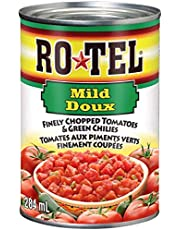Rotel Finely Chopped Tomatoes, Mild - 284ml, 1 Count