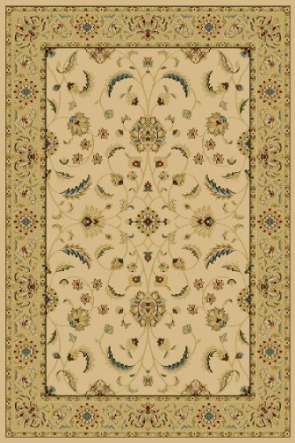 Central Oriental 8810IV80 Interlude Atelier Ivory 7-Feet 10-Inch by 9-Feet 10-Inch Area Rug