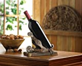 Wine Single Bottle Western Stopper Unique Tabletop Funny Holder Rustic Cowboy Cork Set Happy Chef Countertop Rack Review