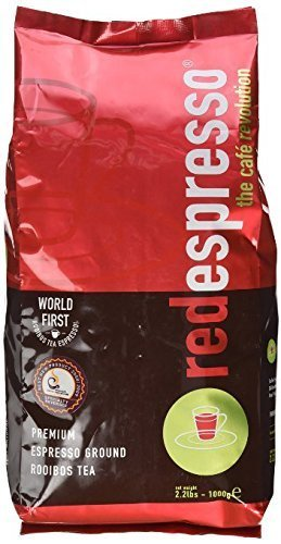 Red Espresso Ground Rooibos Tea (CASE PACK) 5 - 1 kg bags