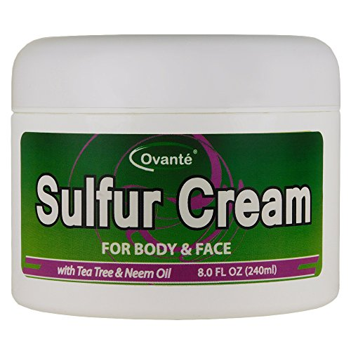 - Sulfur Skin Cream (8 oz. 240 mL) Antifungal Healing Cream for Jock Itch, Ringworm, Athlete's Foot, Wounds, Skin Rashes