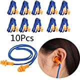 Yalulu 10 Pairs Soft Silicone Ear Plugs Ears