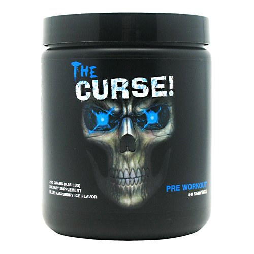 Cobra Labs The Curse Pre-Workout Supplement Blue Raspberry Ice, 50 Servings, 0.55 Pound by Cobra Labs