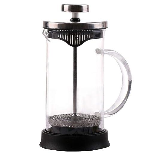 Ruoshi Cafetera de café de Prensa Francesa de Vidrio borosilicato ...