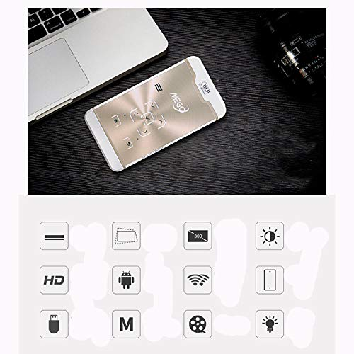 Link Co Video Mini Proyector Bluetooth 4.0 Proyección inalámbrica ...